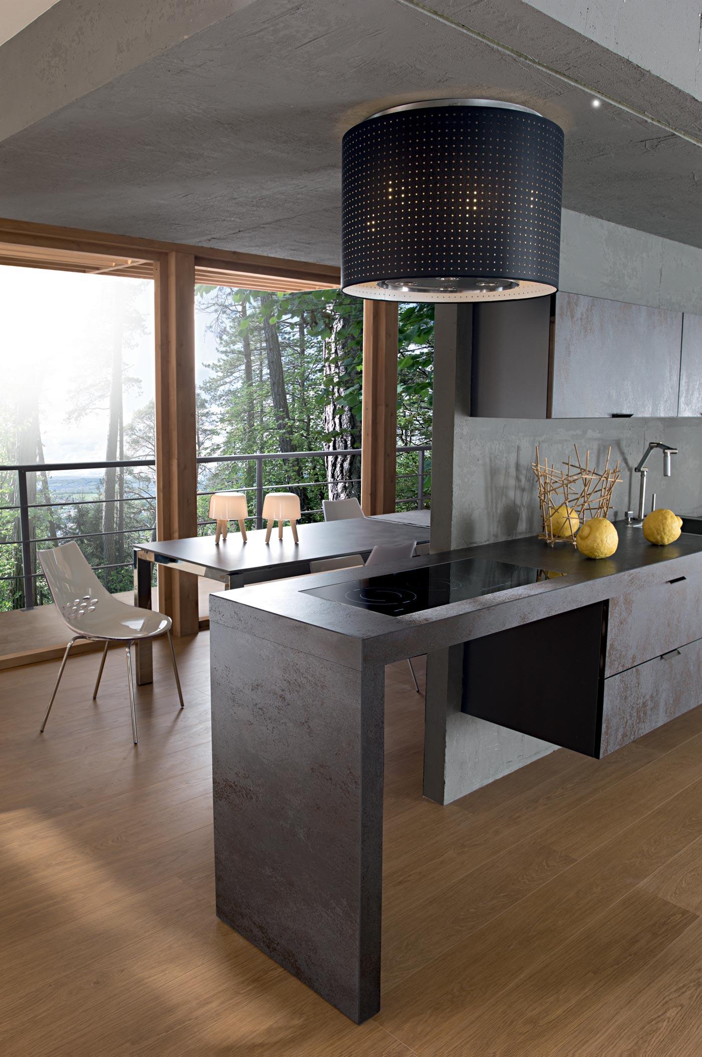 cuisine m110 ceramic oxyde gris perene lyon. Black Bedroom Furniture Sets. Home Design Ideas