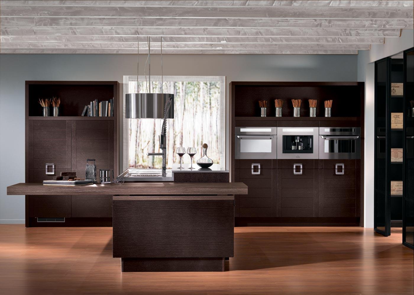 cuisine elegance ch ne acajou perene lyon. Black Bedroom Furniture Sets. Home Design Ideas