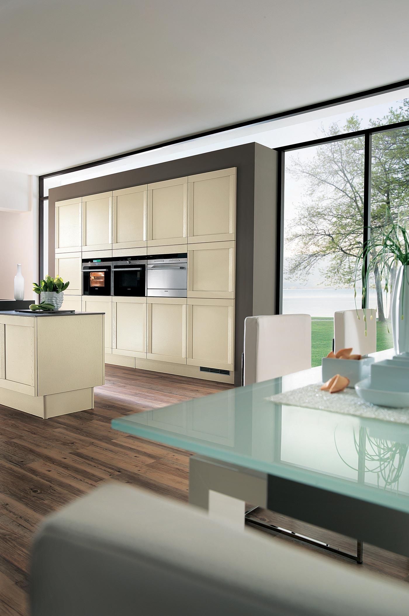 cuisine esquisse ch ne beige cendr perene lyon. Black Bedroom Furniture Sets. Home Design Ideas