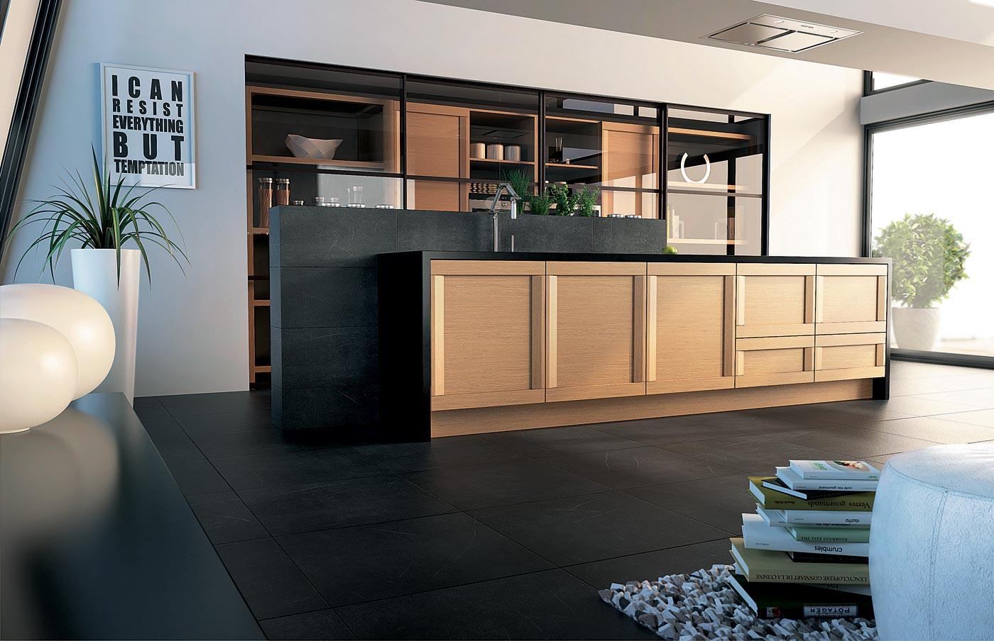 cuisine esquisse ch ne nature perene lyon. Black Bedroom Furniture Sets. Home Design Ideas