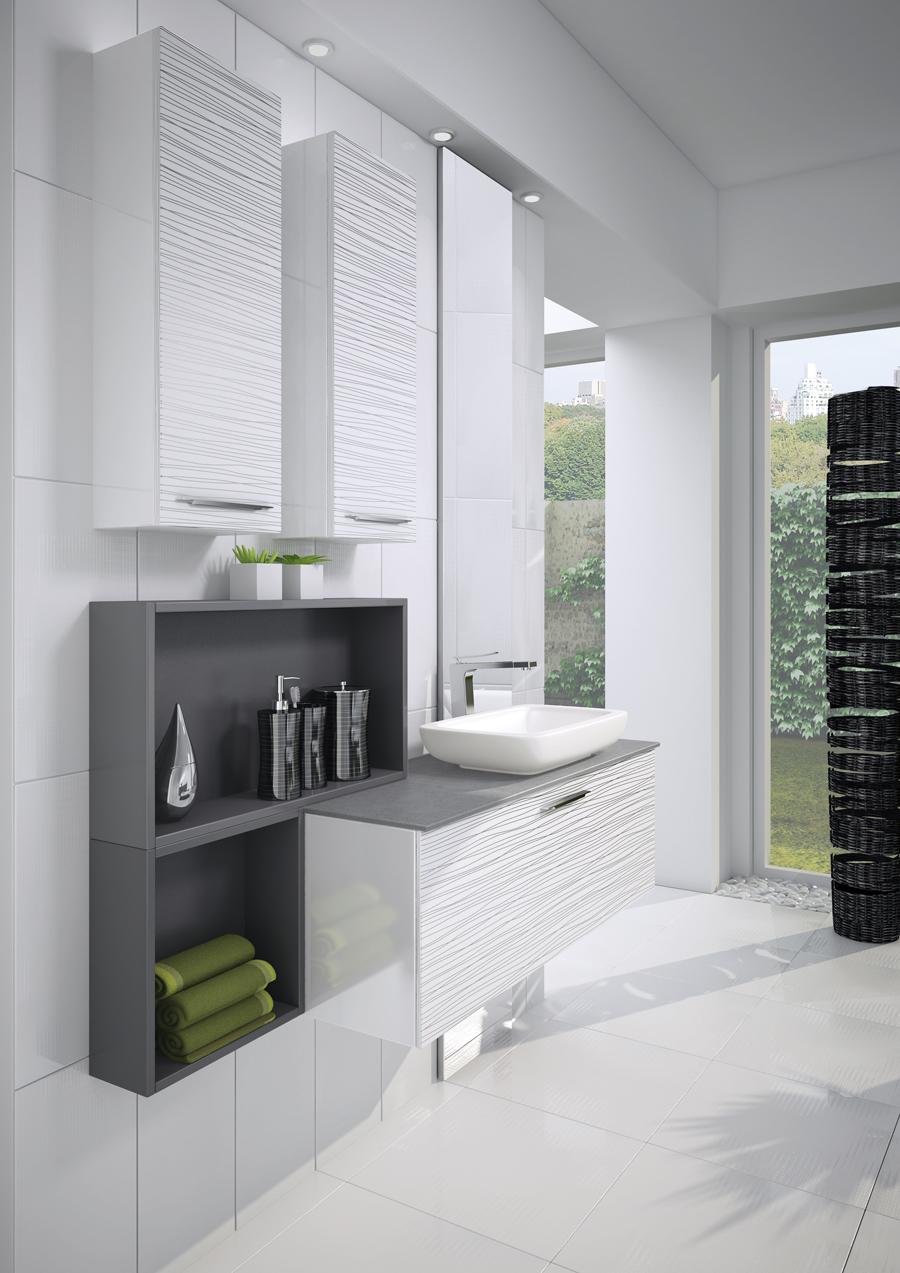salle de bain baya lune brillant tram argent perene lyon. Black Bedroom Furniture Sets. Home Design Ideas
