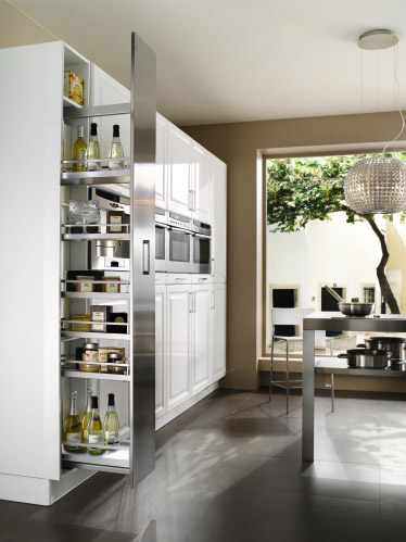 cuisine cameline blanc laqu brillant perene lyon. Black Bedroom Furniture Sets. Home Design Ideas