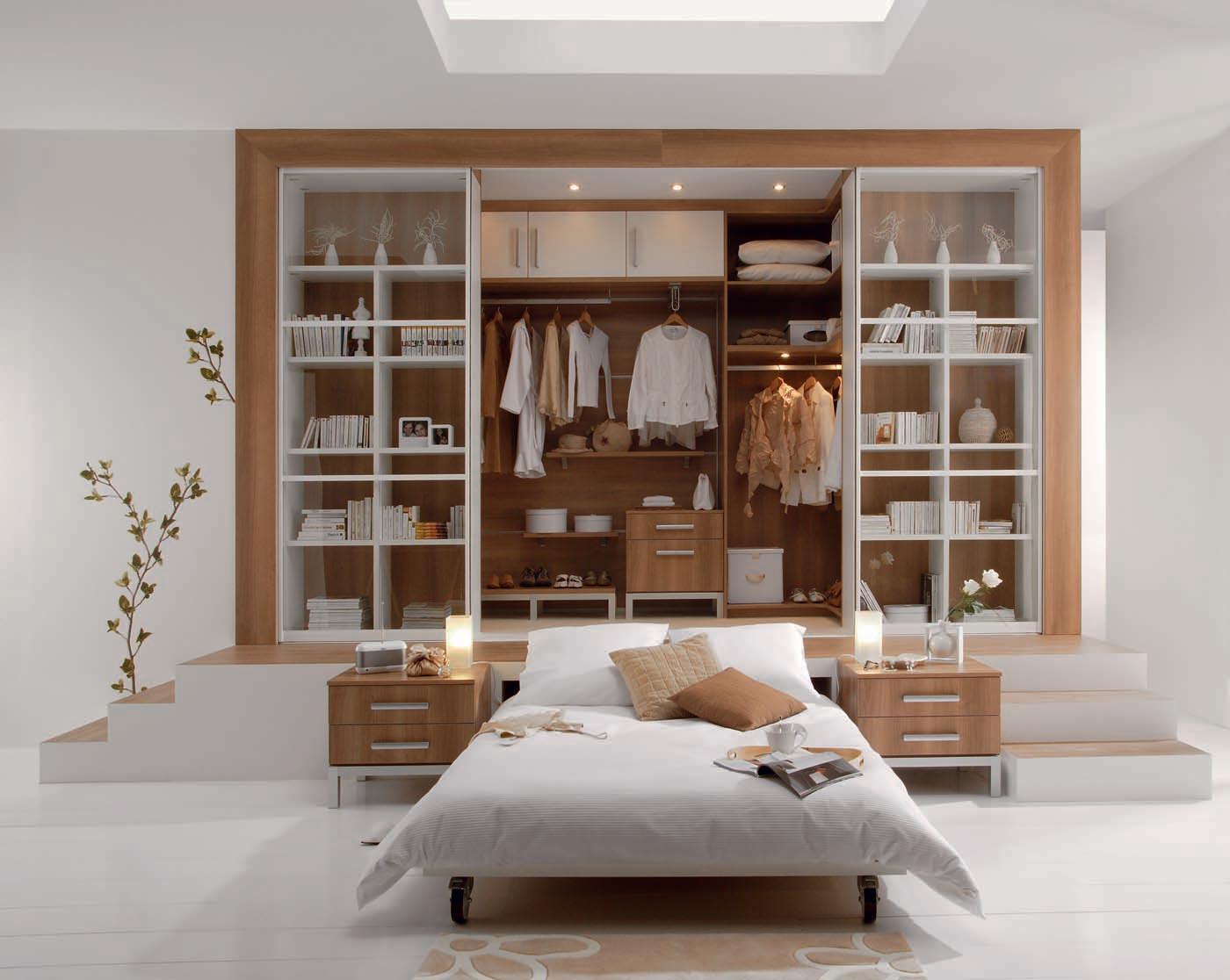 Rangements dressing chambre bulle de puret perene - Comment installer un dressing dans une chambre ...