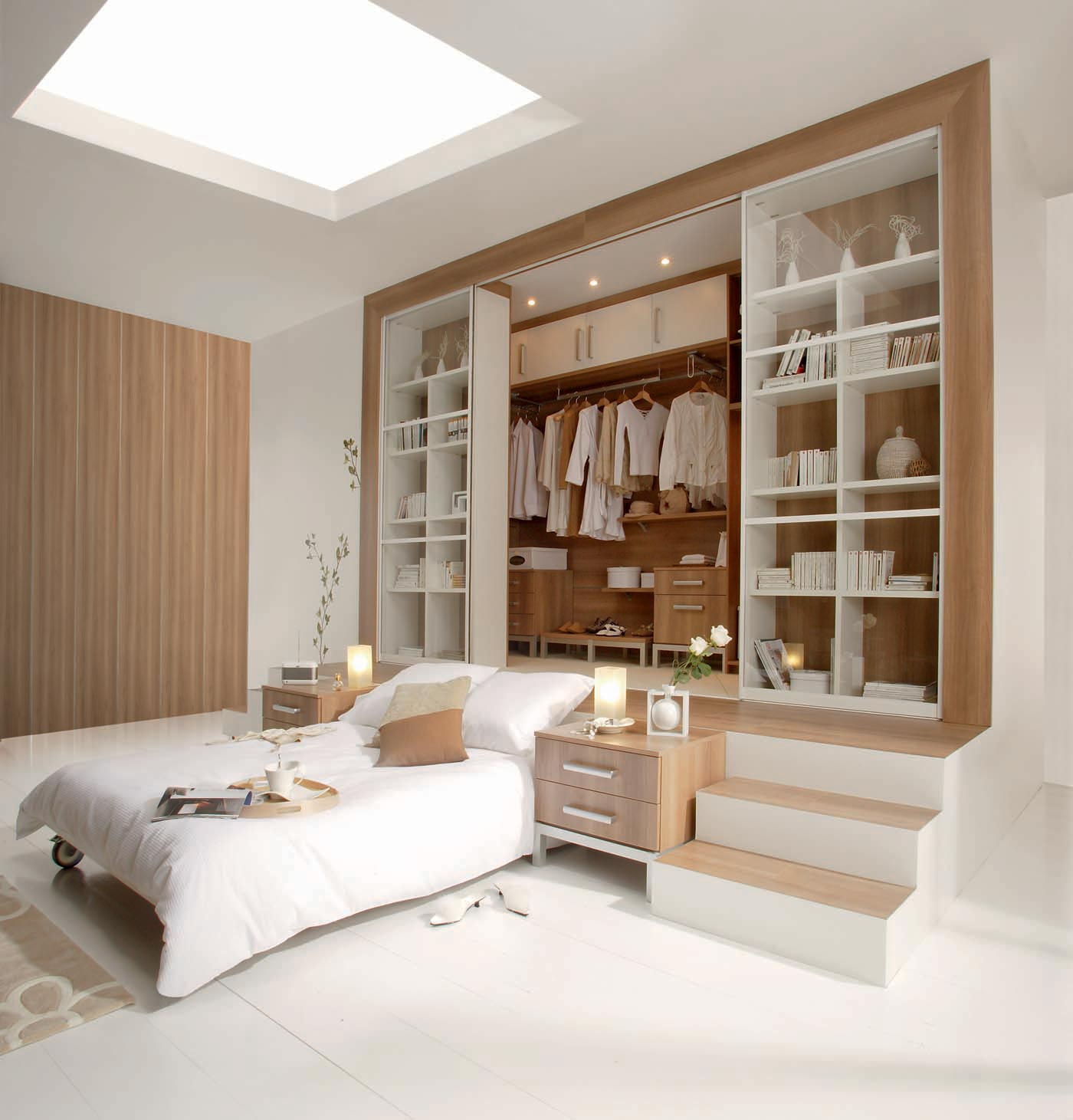 solution rangement chambre maison design. Black Bedroom Furniture Sets. Home Design Ideas