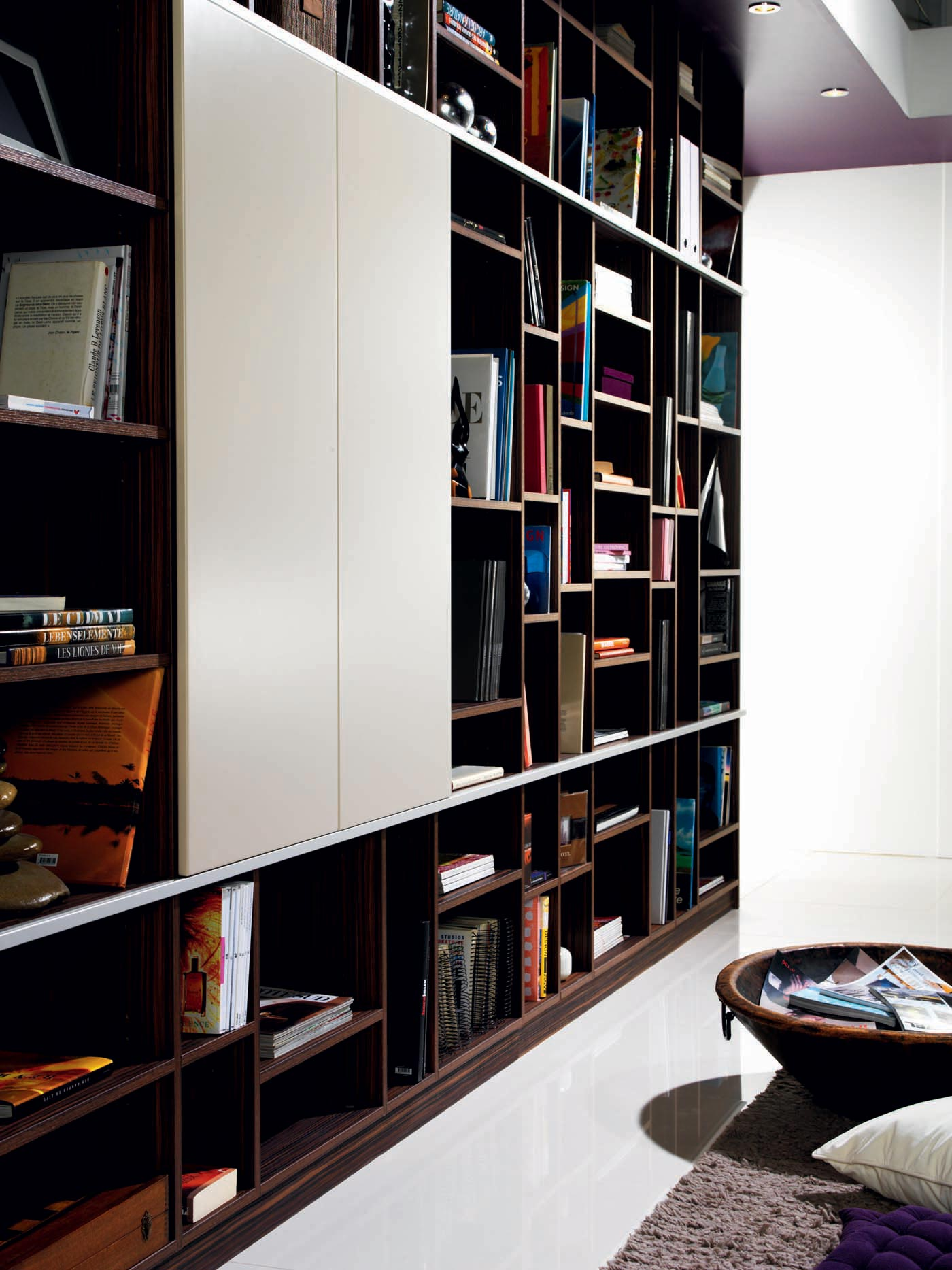 Chambre Vieux Rose Et Beige : Cuisine Bibliothèque  Côté Design Perene Lyon