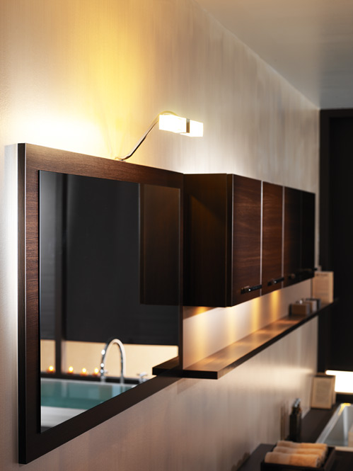 salle de bain eclairages et miroirs perene lyon. Black Bedroom Furniture Sets. Home Design Ideas