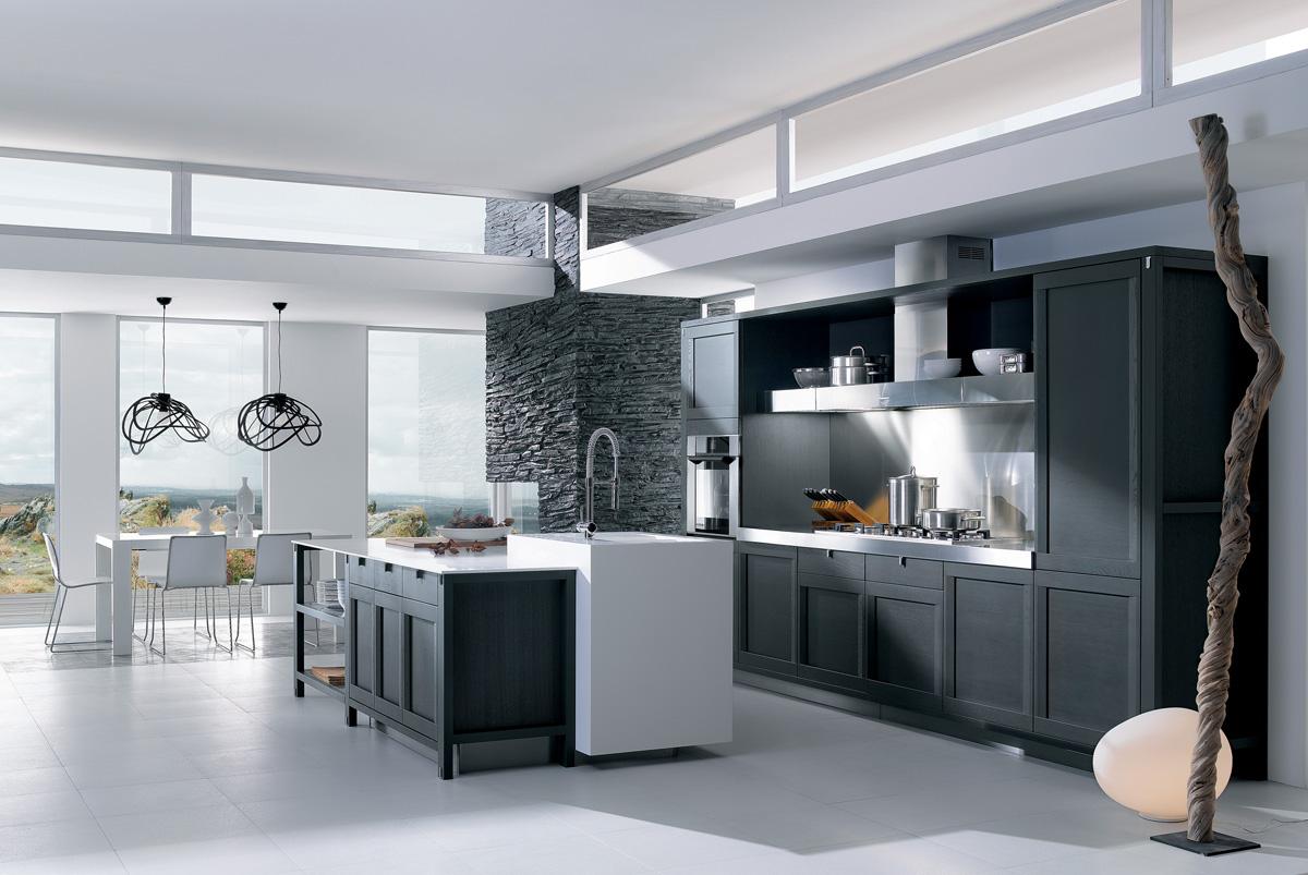 cuisine esquisse ch ne carbone perene lyon. Black Bedroom Furniture Sets. Home Design Ideas