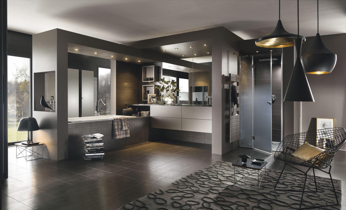 Faure agencement perene lyon cuisines salle de bains for Banos grandes modernos