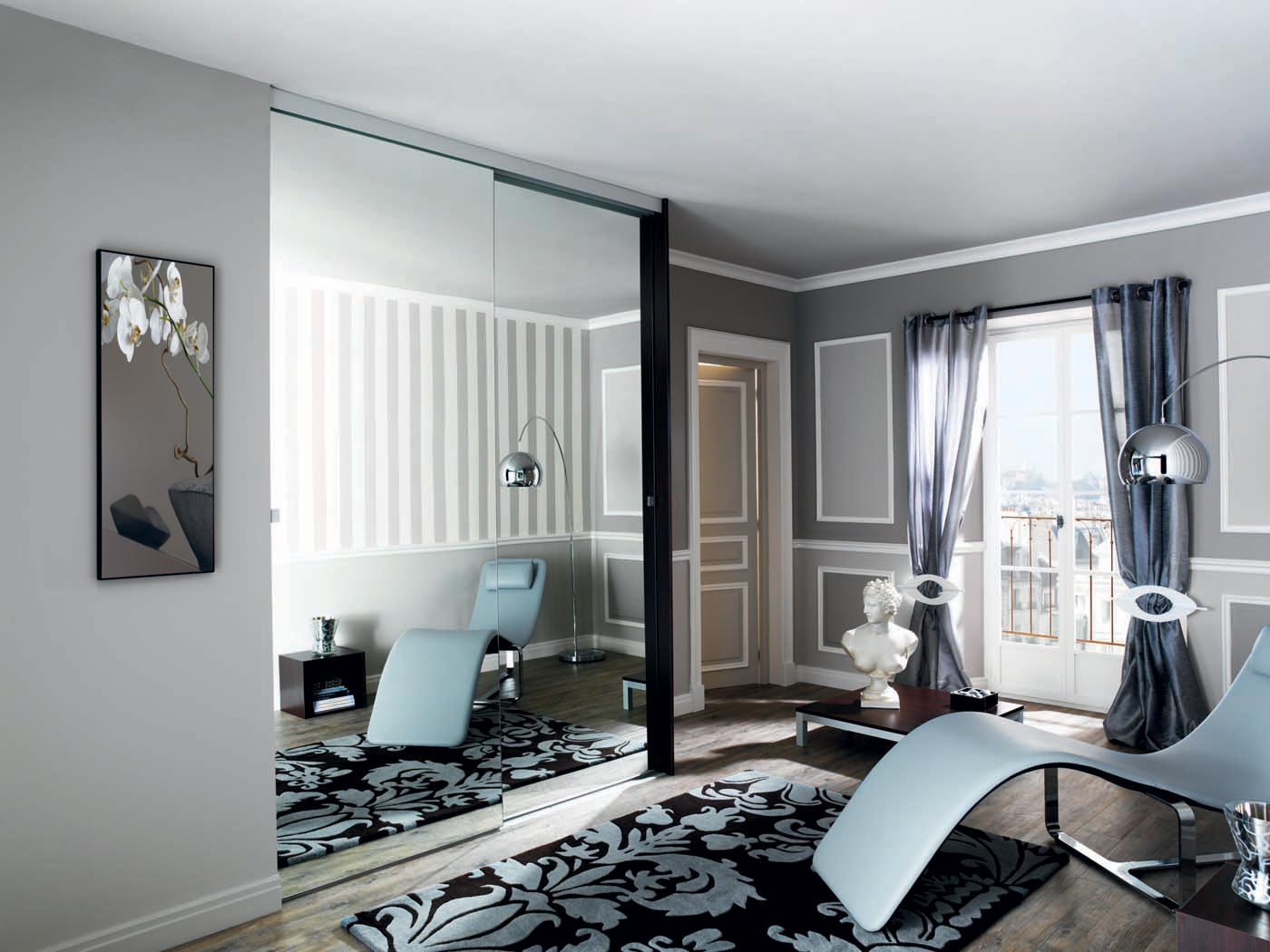 rangements dressing l 39 italienne sky line perene lyon. Black Bedroom Furniture Sets. Home Design Ideas
