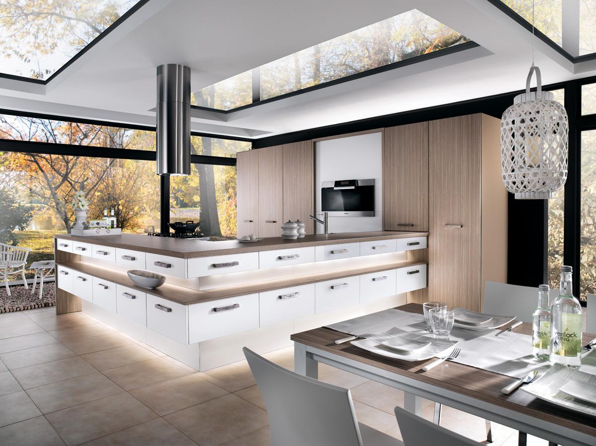 View Images Cuisine M H Mélaminé Blanc Frêne Angelim