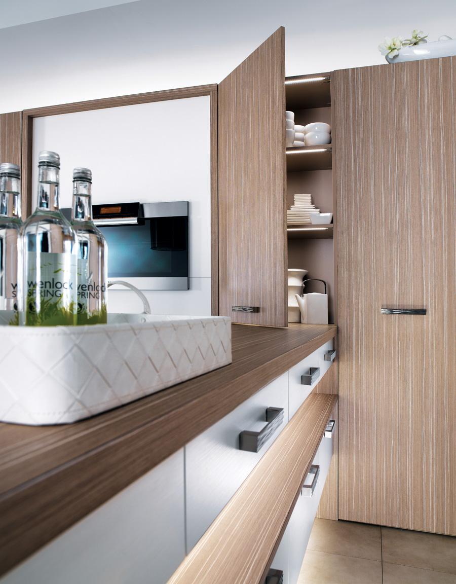 cuisine m100h m lamin blanc fr ne m100 m lamin angelim clair structur perene lyon. Black Bedroom Furniture Sets. Home Design Ideas