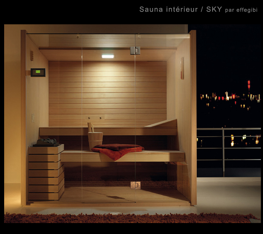 fabulous sauna sauna sauna sauna with salle de bain avec sauna. Black Bedroom Furniture Sets. Home Design Ideas
